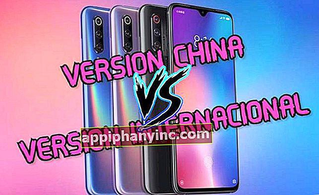 Skillnader mellan den internationella och den kinesiska versionen av en Android-mobil