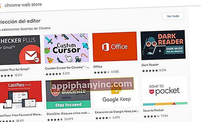Chrome-laajennusten asentaminen Androidiin