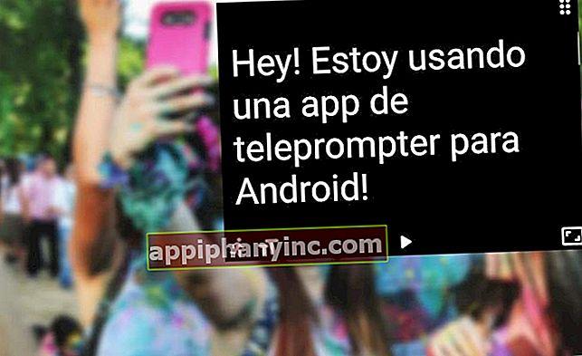 Slik gjør du Android-mobilen din til en teleprompter
