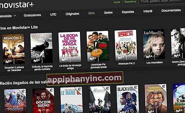 Slik ser du Movistar + Lite gratis (til mai)