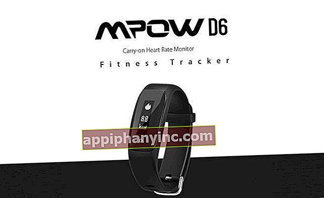 MPOW D6 Smart Fitness Tracker, najboljši poceni sledilnik dejavnosti