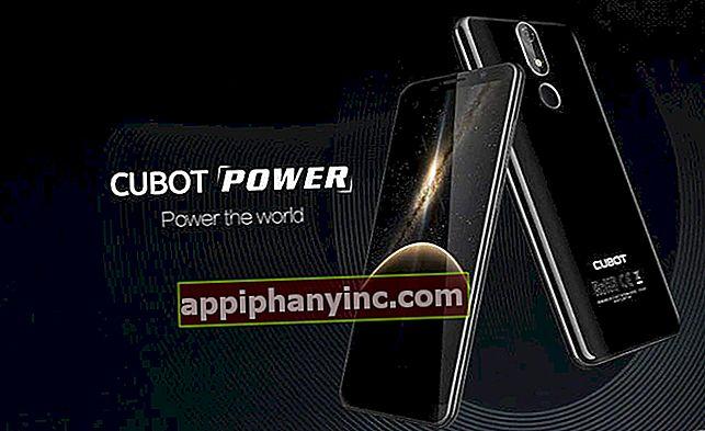 Cubot Power, kraften på 6 GB RAM + 128 GB och ett 6000 mAh batteri