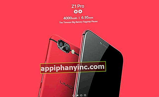UMIDIGI Z1 Pro, ultratunn mobil med 6 GB RAM och 4000 mAh batteri