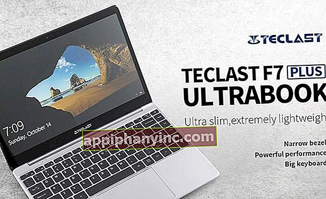 Teclast F7 Plus, en ultratunn 14-tums bärbar dator med 8 GB RAM och 128 GB SSD
