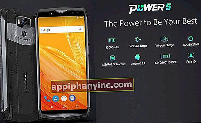 Ulefone Power 5 i analys, ett underverk med ett 13.000 mAh batteri
