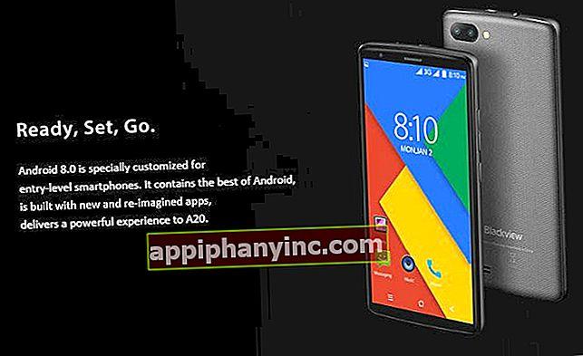 Blackview A20 i analys, en mobil med Android Go för mindre än € 50