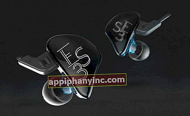 KZ-ES3: Avtagbara hörlurar med hög kvalitet