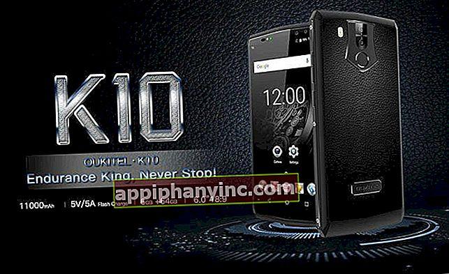 Oukitel K10 i analys, en mobil med 11.000 mAh batteri och 6 GB RAM