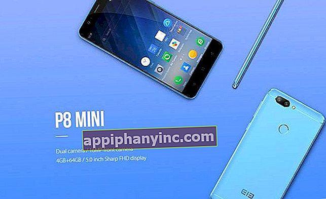 Elephone P8 mini i granskning: en kompakt terminal med en 16,0 MP frontkamera