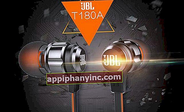JBL T180A i granskning, in-ear-hörlurar med 9 mm dynamisk drivrutin
