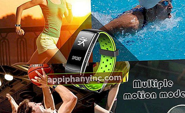 Q8 Smart armband, ett IP67 vattentätt smart armband