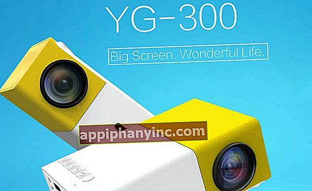 FW1S YG300, en liten 1080P LED-projektor med attraktiv design